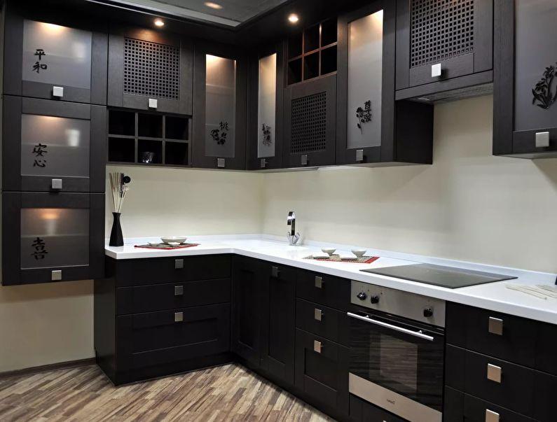 Дизайн угловой кухни 9 кв.м.