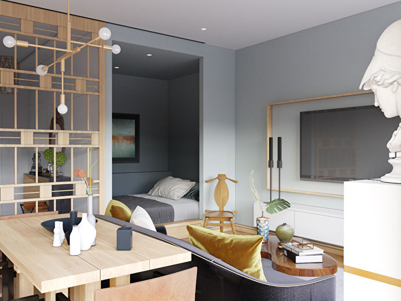 Дизайн-проект квартиры «St. Helena», Москва