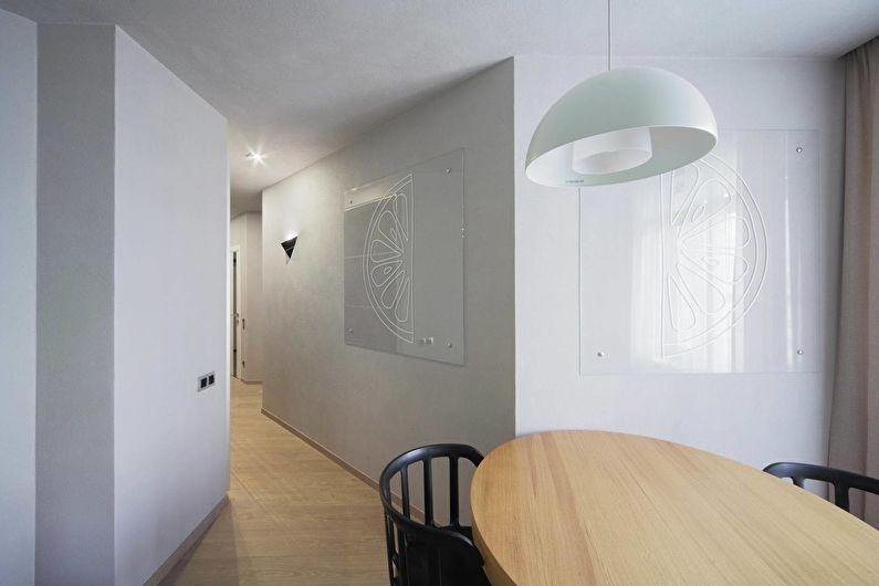 Concrete: Интерьер квартиры в стиле лофт