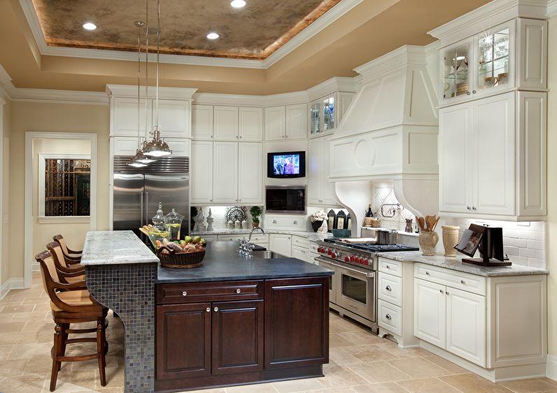 Дизайн интерьера кухни в итальянском стиле