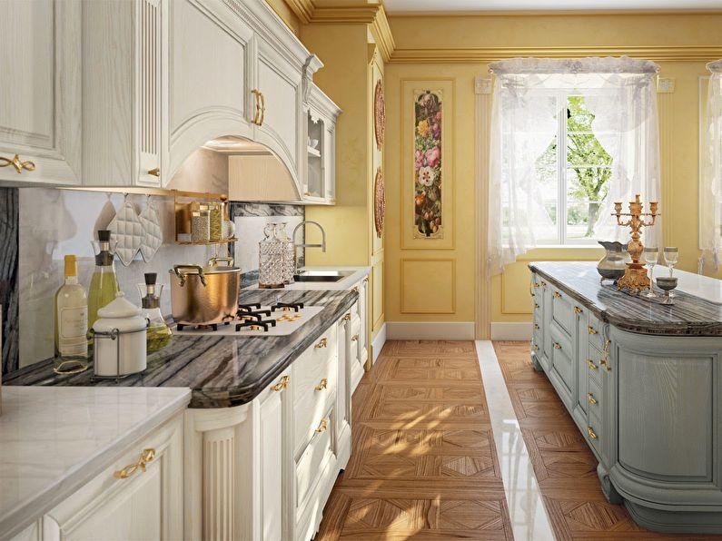 Интерьер кухни в итальянском стиле, Цветовые решения