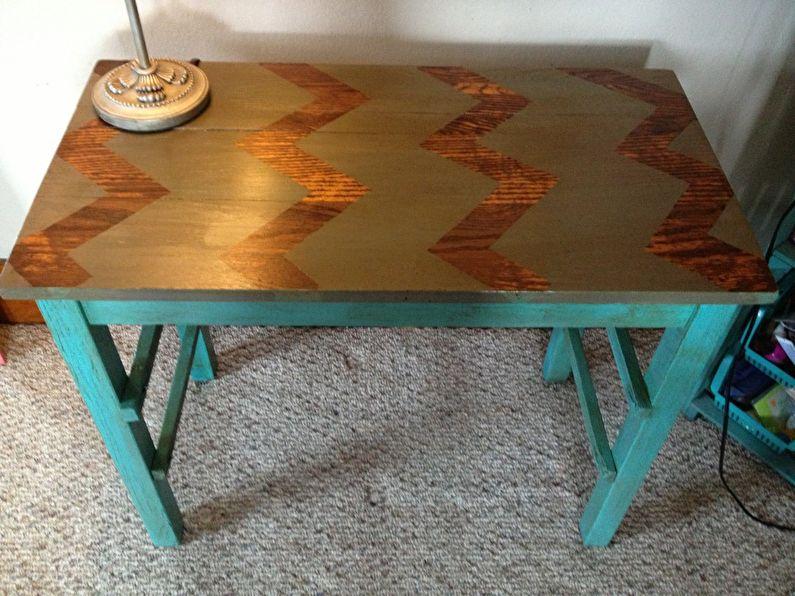 Декор своими руками кухонного стола
