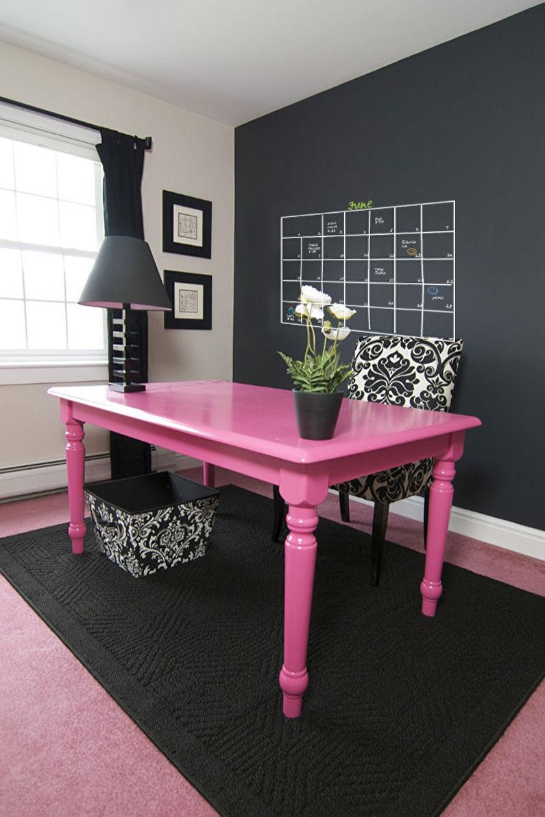 Покраска - Декор старого стола своими руками
