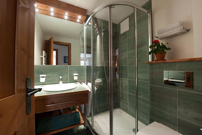 Дизайн маленькой ванной комнаты 4 кв.м.