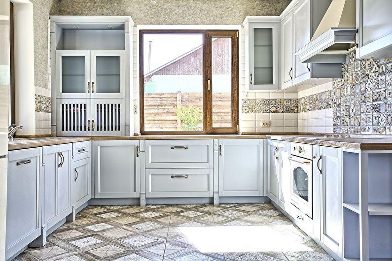 Материалы и отделка - дизайн кухни в стиле прованс