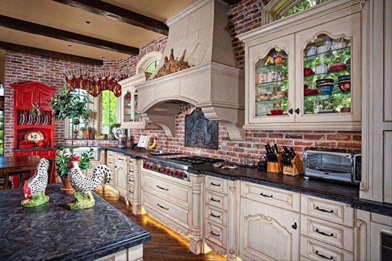Дизайн и декор кухни в стиле прованс