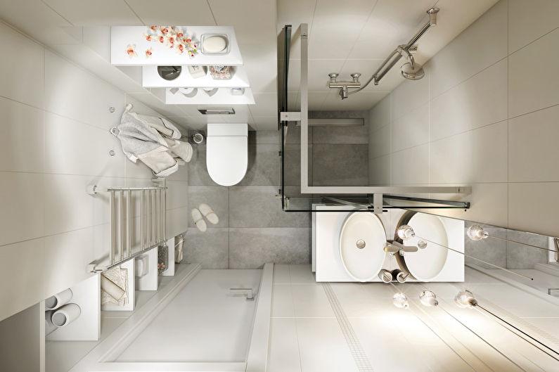 Minimal: Дизайн квартиры-студии 30 кв.м.