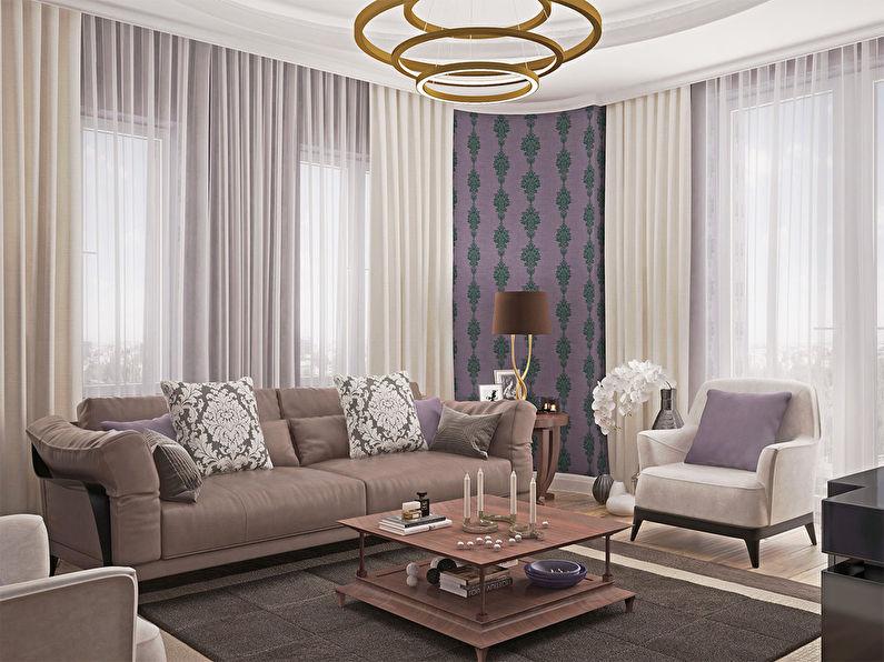 Дизайн квартиры «Французский шик»