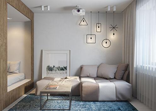 Квартира-студия 29 м2, Санкт-Петербург