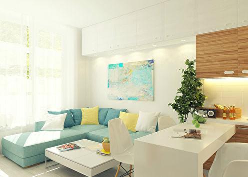 Seasmall: Квартира 29 кв.м.