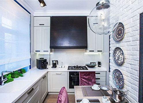 Дизайн кухни 9 кв.м. (80 фото)