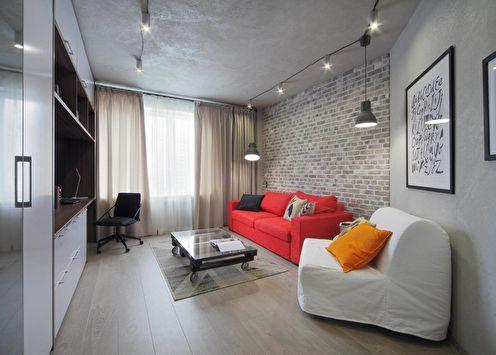Concrete: Квартира в стиле лофт