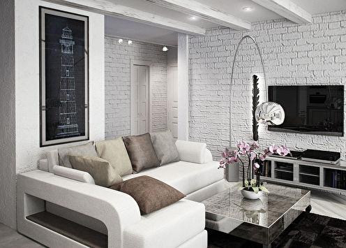 Дизайн квартиры 72 кв.м.