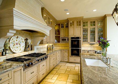 Итальянский стиль в интерьере кухни (+25 фото)