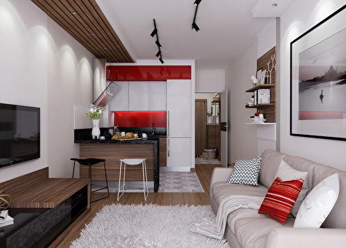 Линия стиля: Квартира 29 м2