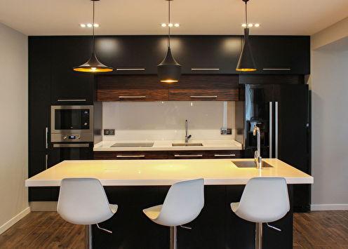Дизайн кухни в пентхаусе