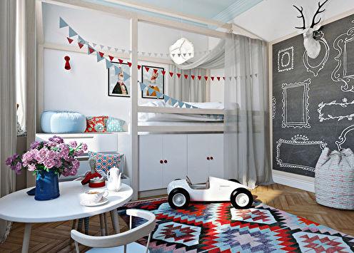 Детская комната «Город»