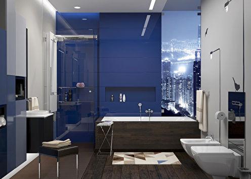 «Виды Гонконга»: Интерьер ванной комнаты