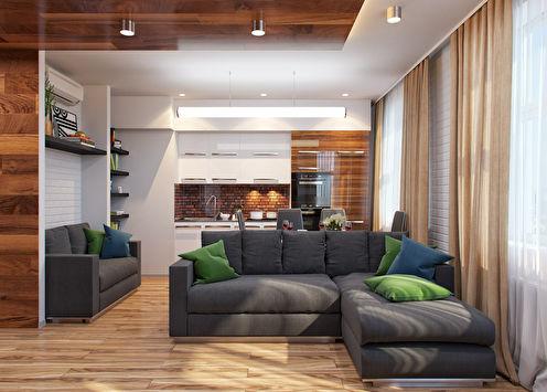The Studio: Квартира 29.5 м2