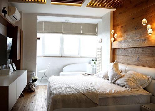«Сны в облаках»: Дизайн спальни