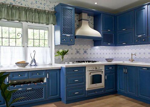 Дизайн интерьера кухни в стиле прованс (50 фото)