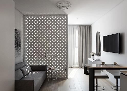 Minimal: Квартира-студия 30 кв.м.