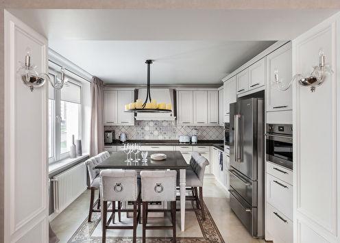 «Аромат изыска»: Дизайн светлой кухни