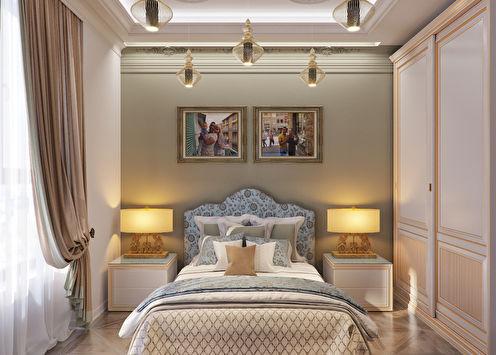 Italian Dream: Интерьер спальни