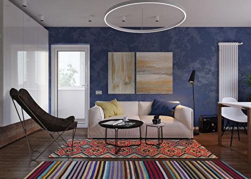 Mini Studio: Проект маленькой квартиры