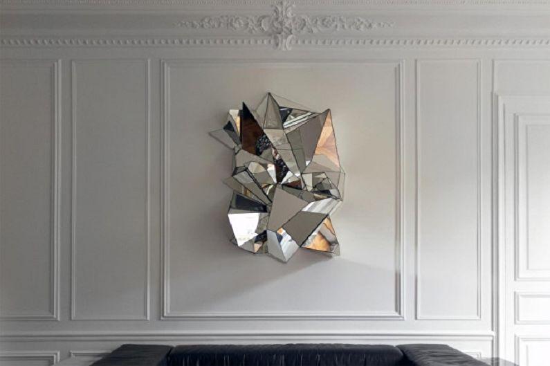 Декор стен своими руками - Зеркала