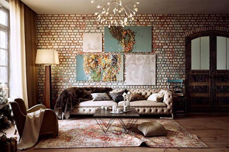 Декор стен своими руками - Оригинальные картины