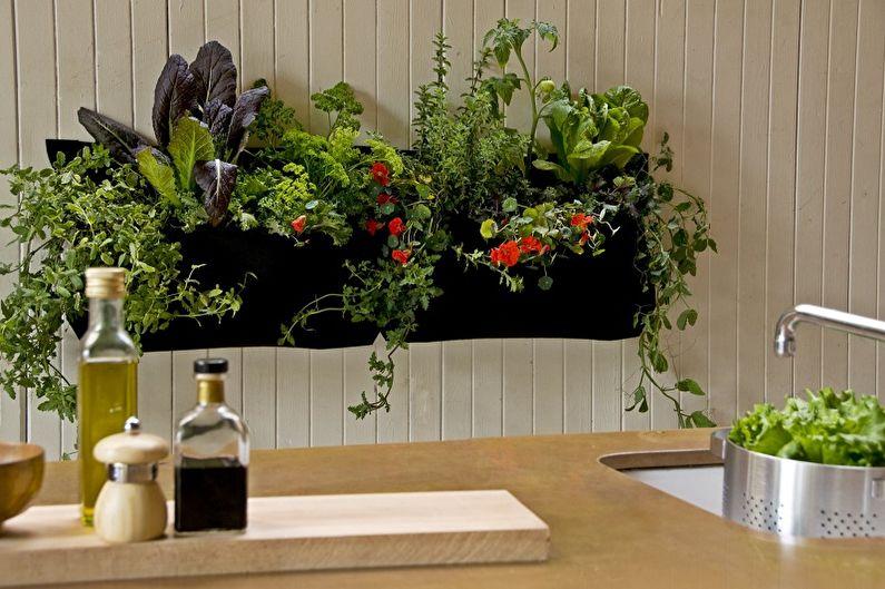 Декор стен своими руками - Растения