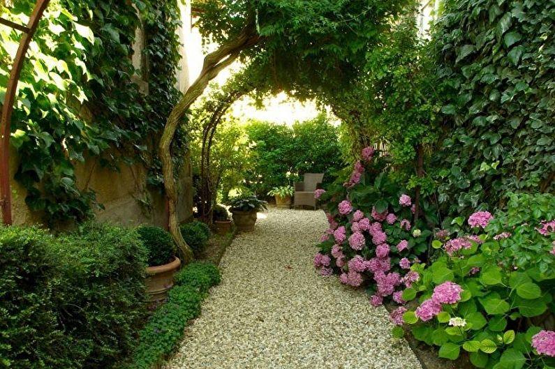 Садовые дорожки своими руками - Насыпная дорожка