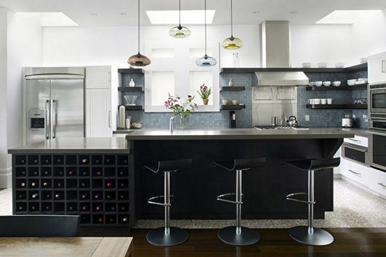 Дизайн кухни 2018 - Модные идеи