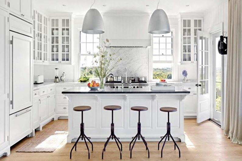 Дизайн кухни 2018 - Цветовые решения