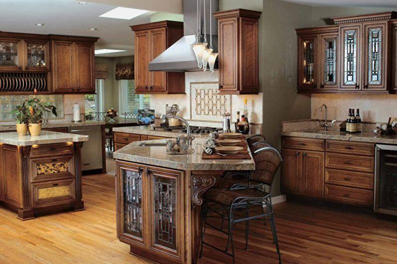 Дизайн кухни 2018 в классическом стиле