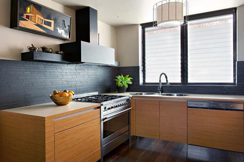 Дизайн маленькой кухни 2018 - Тенденции