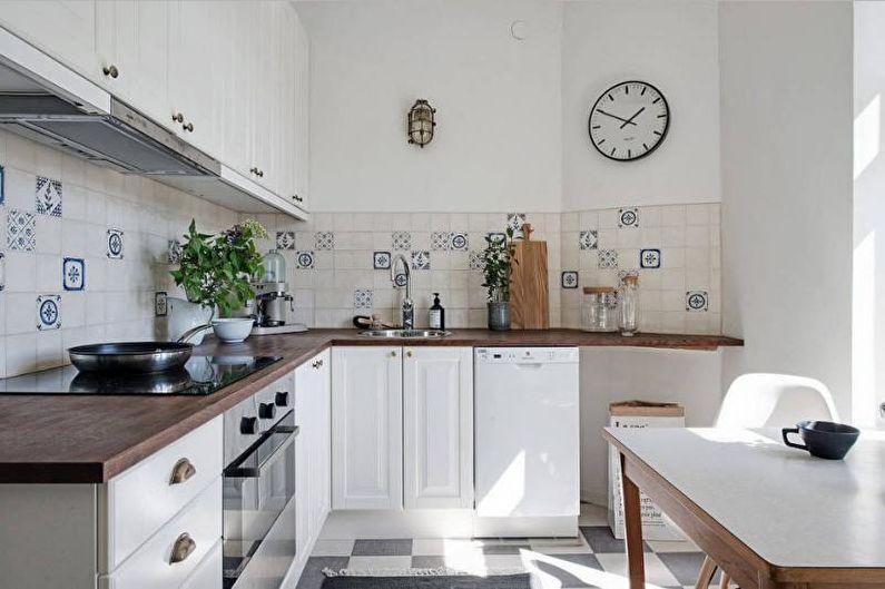 Дизайн интерьера кухни 2018 - фото