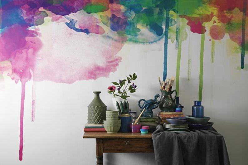top_667 Декор стен своими руками: 9 красивых идей, 50 фото