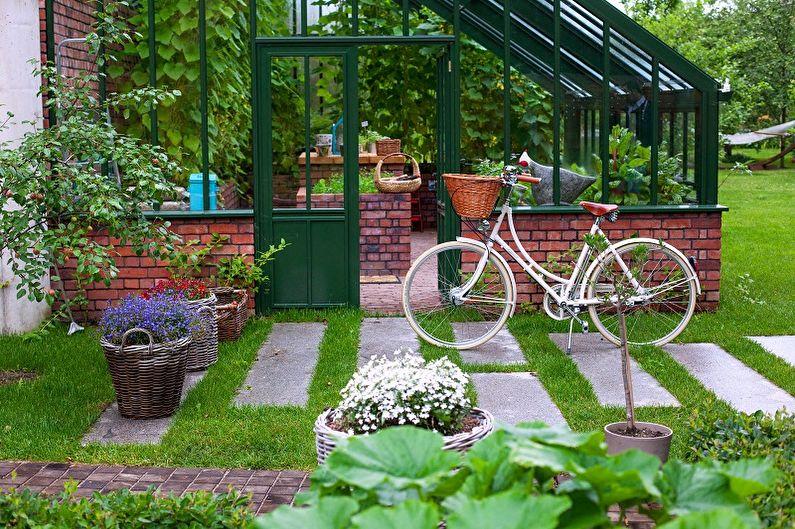 Садовые дорожки своими руками: 50 фото-идей