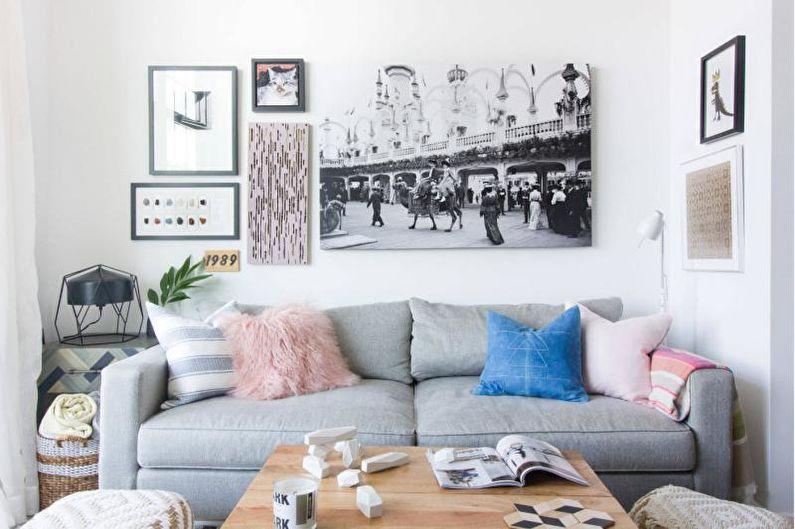 Дизайн гостиной 2018 (+75 фото)