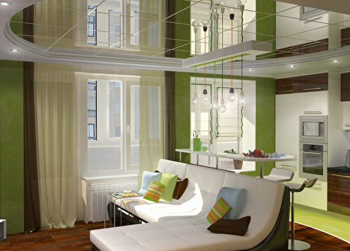Квартира «Зеленая фантазия»