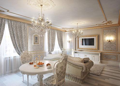 «Золотая классика»: Квартира 53 м2