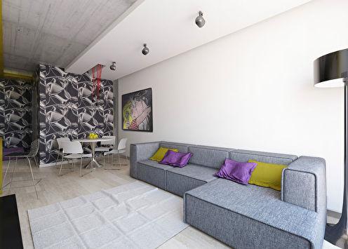 Le Futur: Квартира в современном стиле