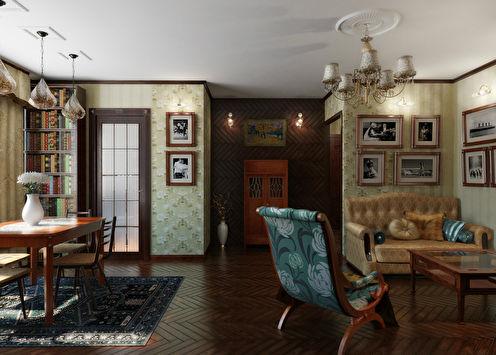 «Бабушкин сундук»: Квартира 45 кв.м.