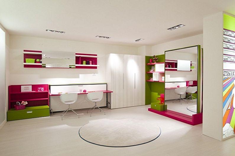 Дизайн детской комнаты для двух девочек - Что нужно учесть