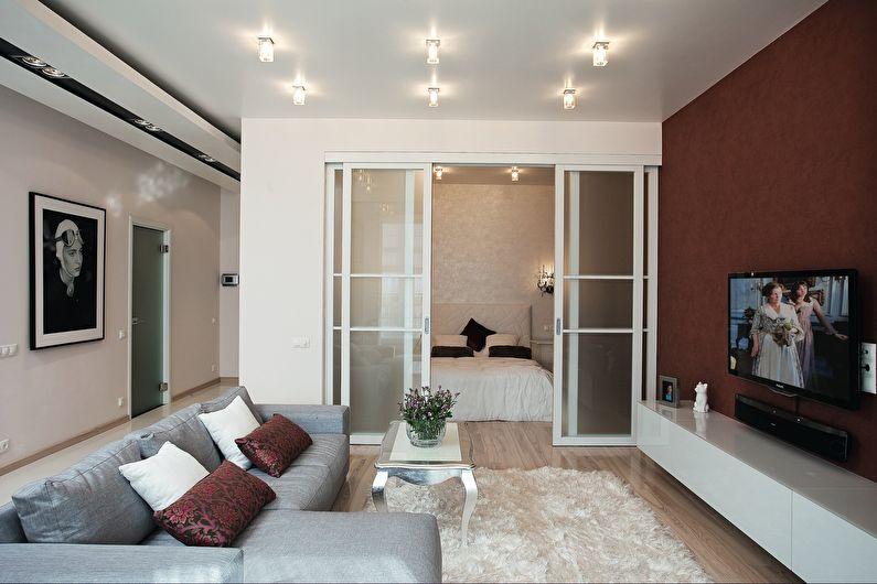 Дизайн маленькой гостиной в современном стиле