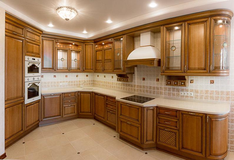Дизайн кухни в классическом стиле - Кухонный гарнитур