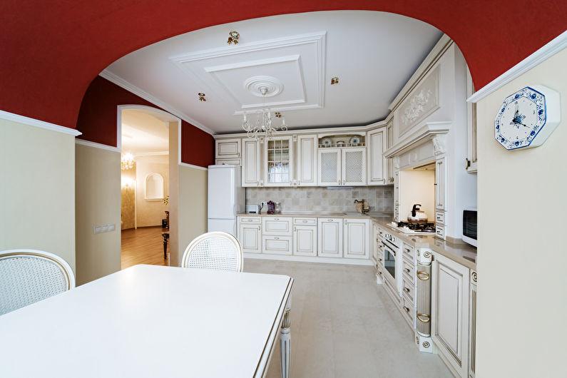 Дизайн кухни в классическом стиле - Холодильник
