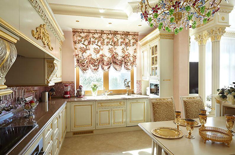 Дизайн кухни в классическом стиле - Декор